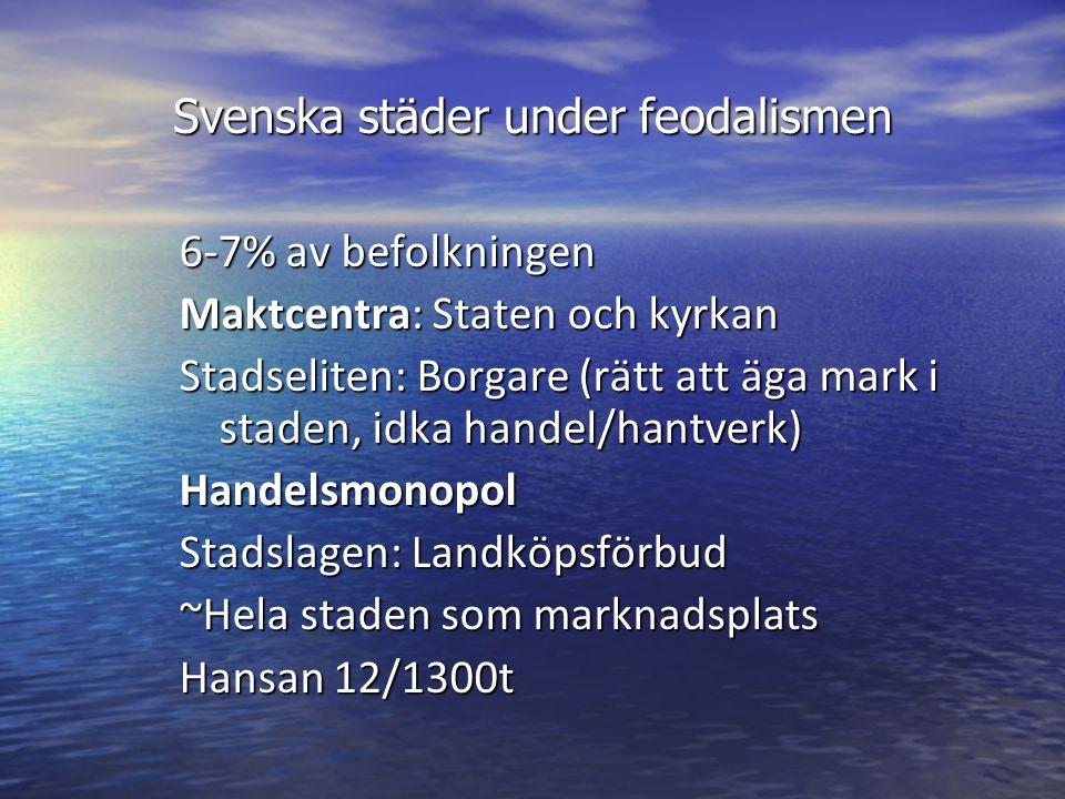 Skråväsende start 1356 i Sverige Organiserat hantverk (prissättning) Kvalitetsgaranti Ömsesidig stöd I vissa kvarter Bostad = arbetsplats Medlemskap: Lärjungar, gesäller, Mästare Mästerprov, Mästarbrev, kapital, verktyg