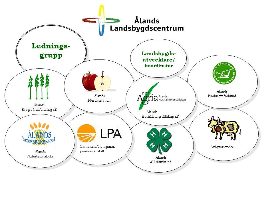 Verksamhetsidé Utveckla och bredda näringsverksamheten på landsbygden med utgångspunkt från jord– och skogsbruket samt anknutna näringar