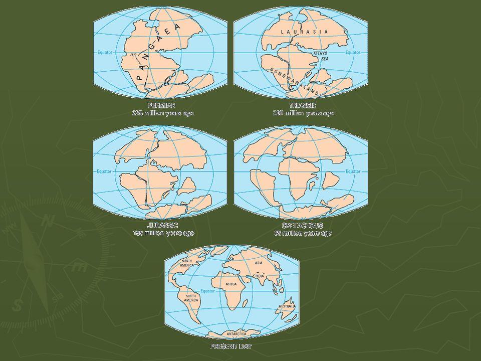 Jordskalv ► Spänningar där jordskorpan är svag och där plattor glider isär eller kolliderar.