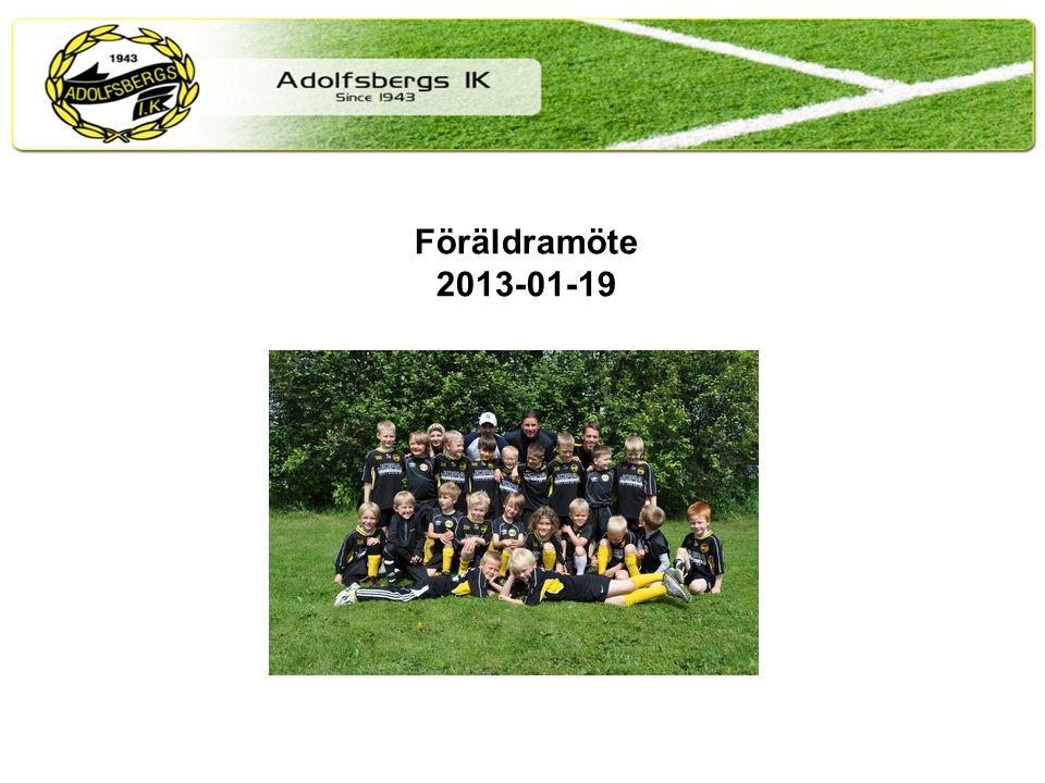 Föräldramöte 2013-01-19