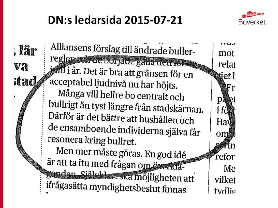 DN:s ledarsida 2015-07-21