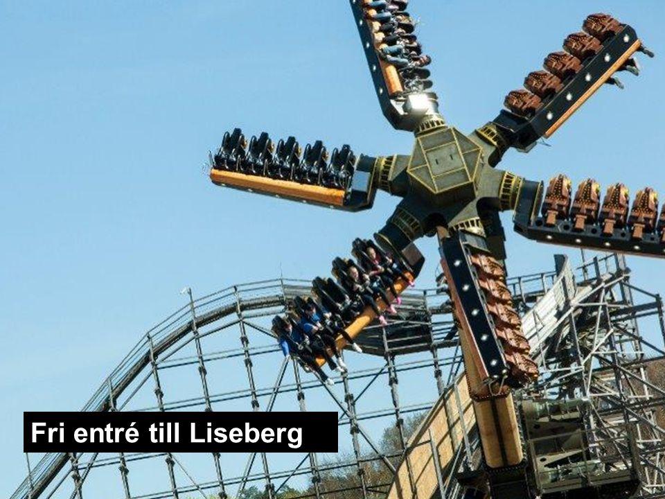 Fri entré till Liseberg