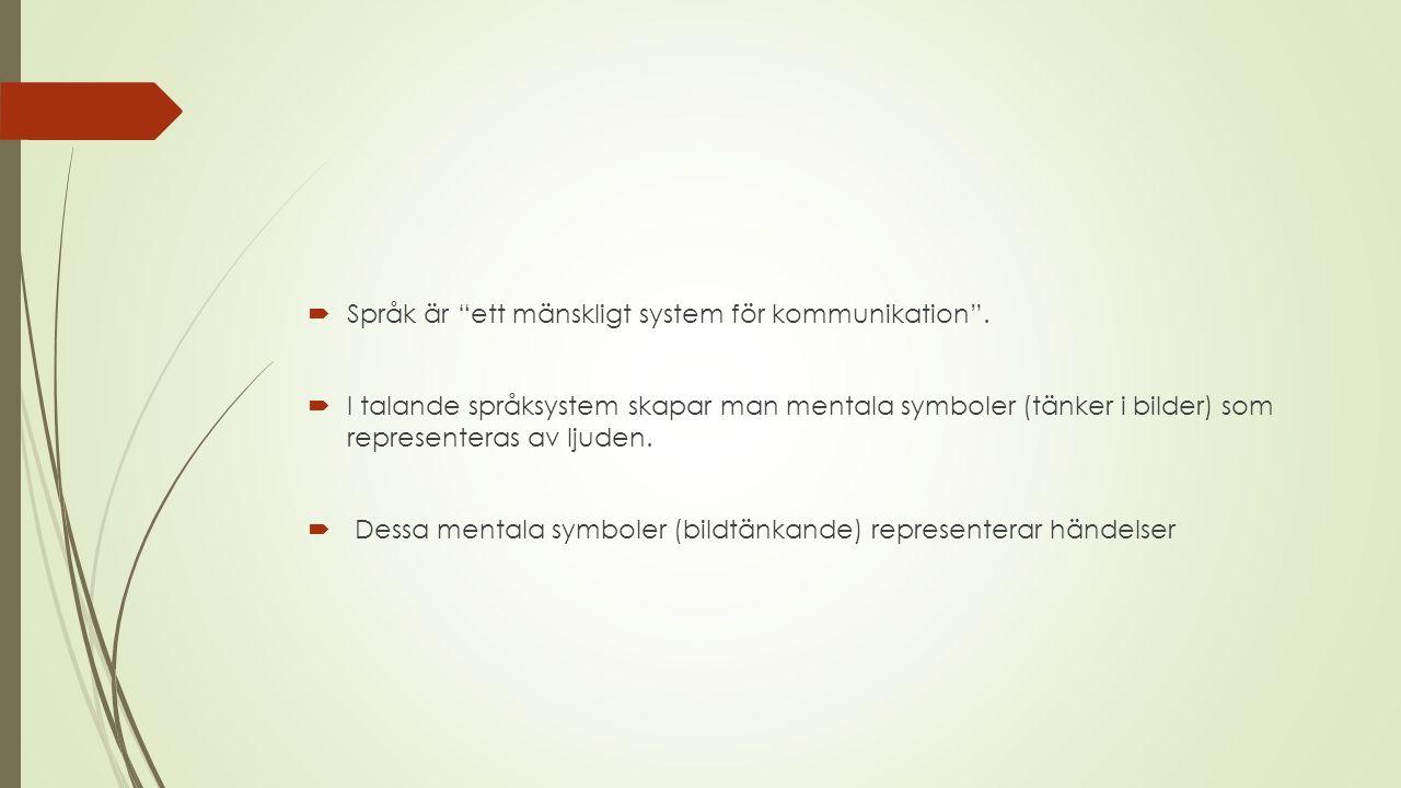  Kommunikation kan beskrivas som två människor som pratar (det kan självklart vara flera!).