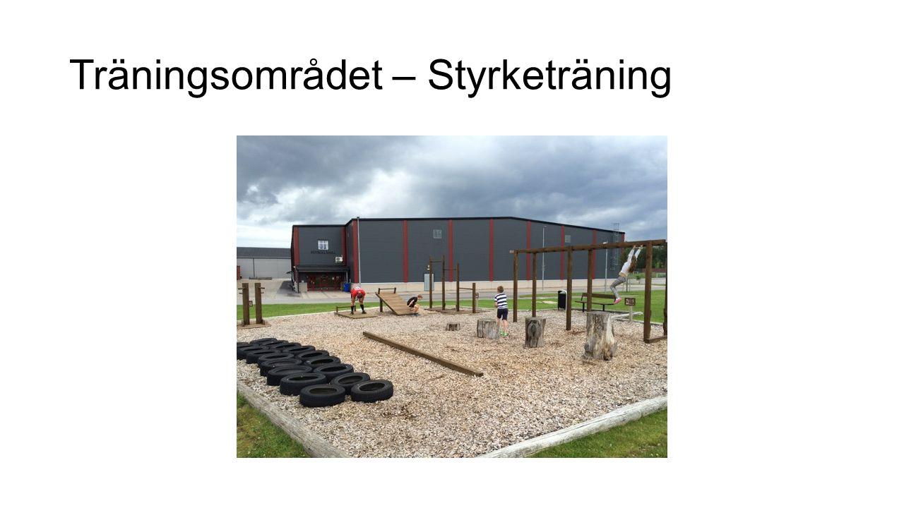 Möjligt boende nära träningsanläggning Ett hotell i anslutning till träningsområdet http://www.nyakurhotellet.se