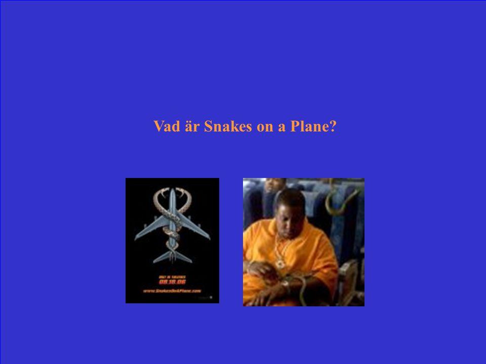 Samuel L Jackson spelade med i detta högtflygande storverk till reptilthriller från 2006.