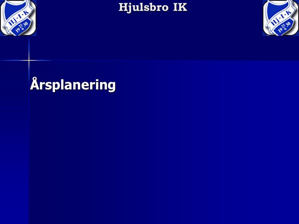 Hjulsbro IK Årsplanering