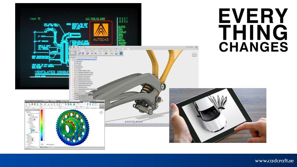 www.cadcraft.se © 2013 Autodesk Spårbarhet av levererade produkter och system