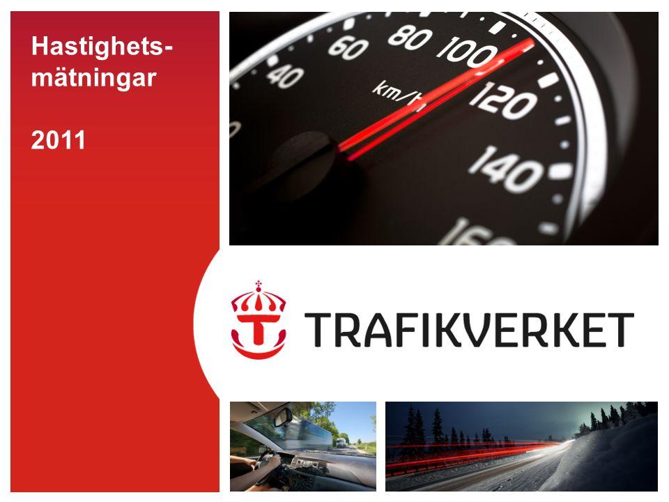 22016-09-26 Aktörsmätningar hastighet 2011 En ögonblicksbild Uppmätta hastigheter av bussar, taxibilar och lastbilar med logotyp Mätningarna genomförs på 50 km/h-, 70 km/h-, 80 km/h- och 90 km/h-vägar 21 098 observationer