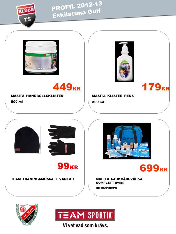 PROFIL 2011 TEST IS PROFIL 2012-13 Eskilstuna Guif 699 KR MASITA SJUKVÅDSVÄSKA KOMPLETT ifylld.