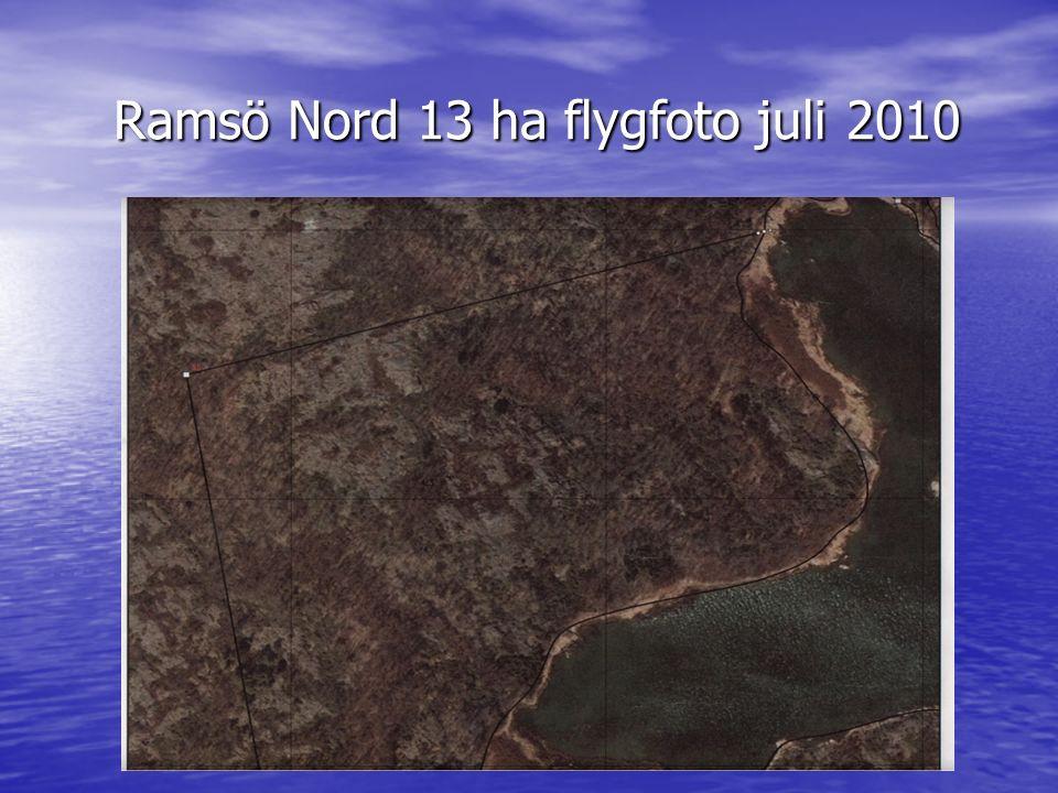 Ramsö Nord 13 ha flygfoto juli 2010 Ramsö Nord 13 ha flygfoto juli 2010