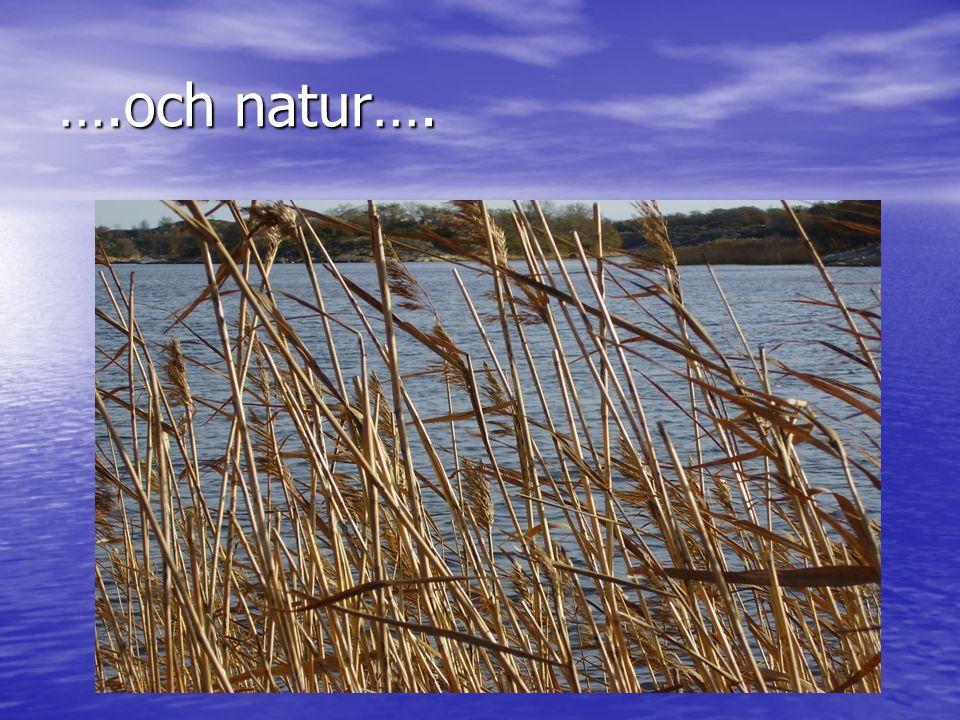 ….och natur….