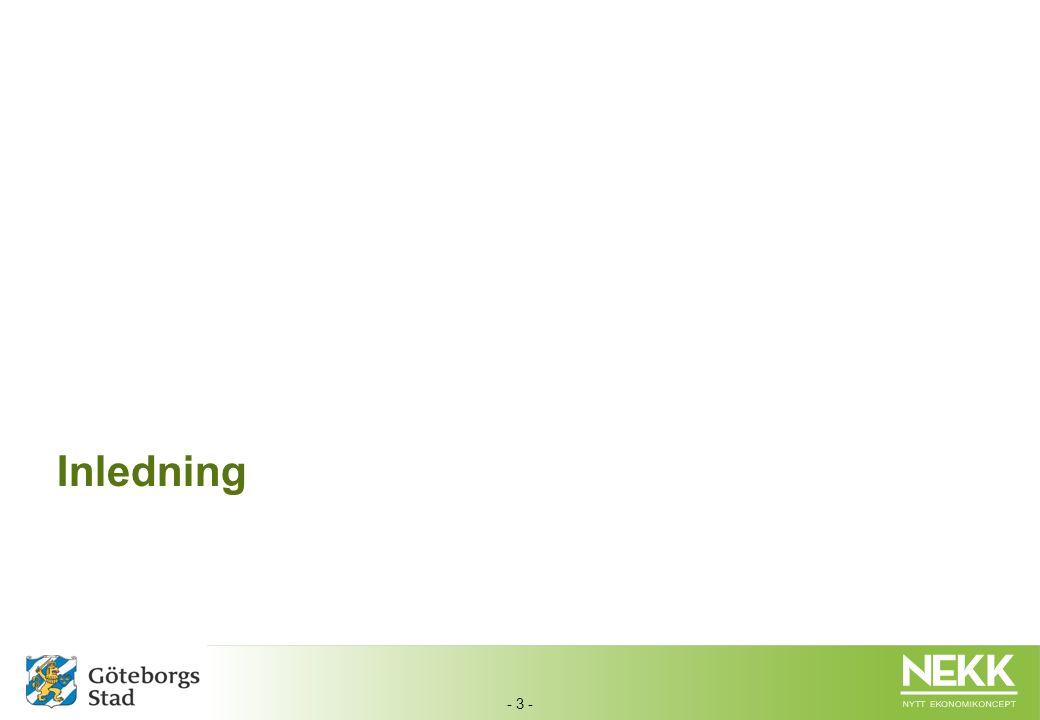 - 4 -  Det här dokumentet beskriver övergripande hur det nya ekonomisystemet (Agresso) är utformat och uppsatt för förvaltningarna i Göteborgs Stad.