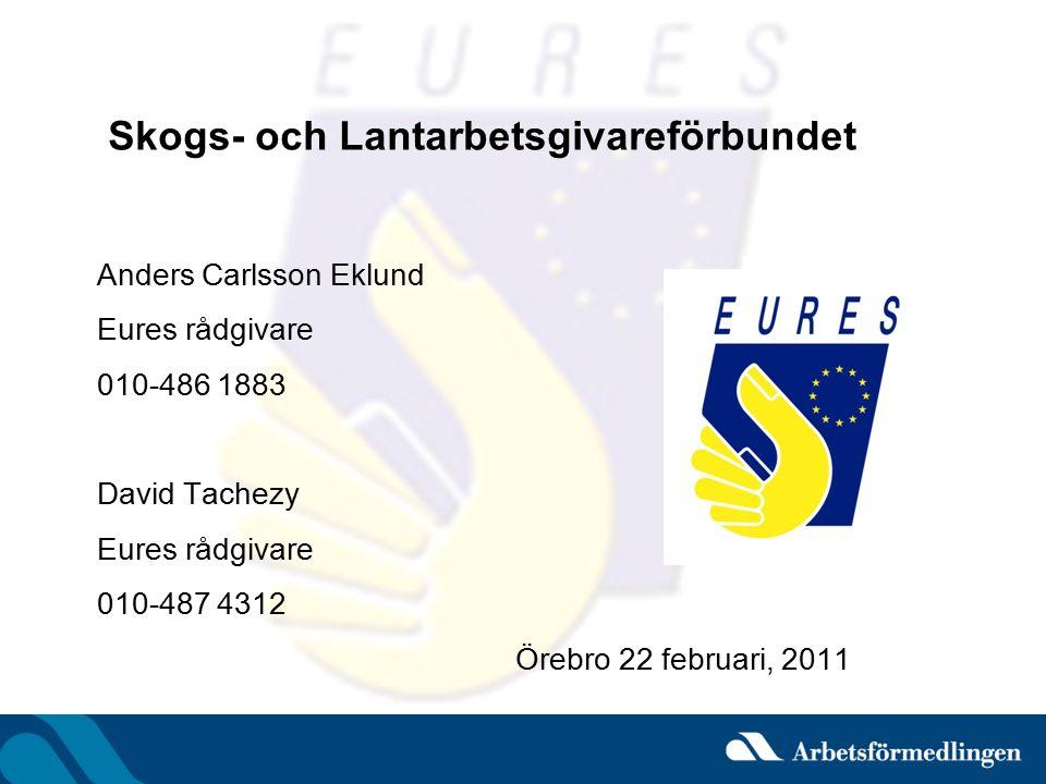 Rekrytera utomlands Vad är Eures.Vad innebär den fria rörligheten.