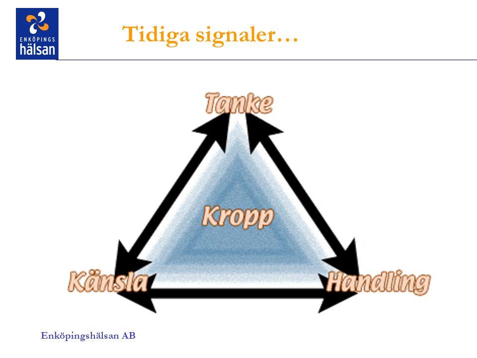 Enköpingshälsan AB Tidiga signaler…