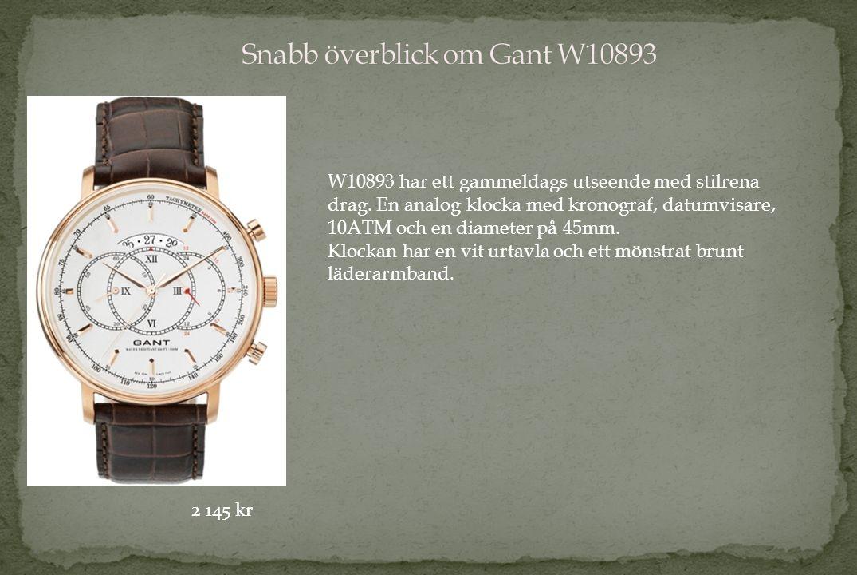 W10893 har ett gammeldags utseende med stilrena drag.