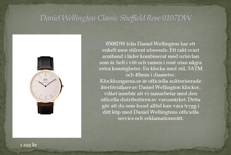 0508DW från Daniel Wellington har ett enkelt men stilrent utseende.