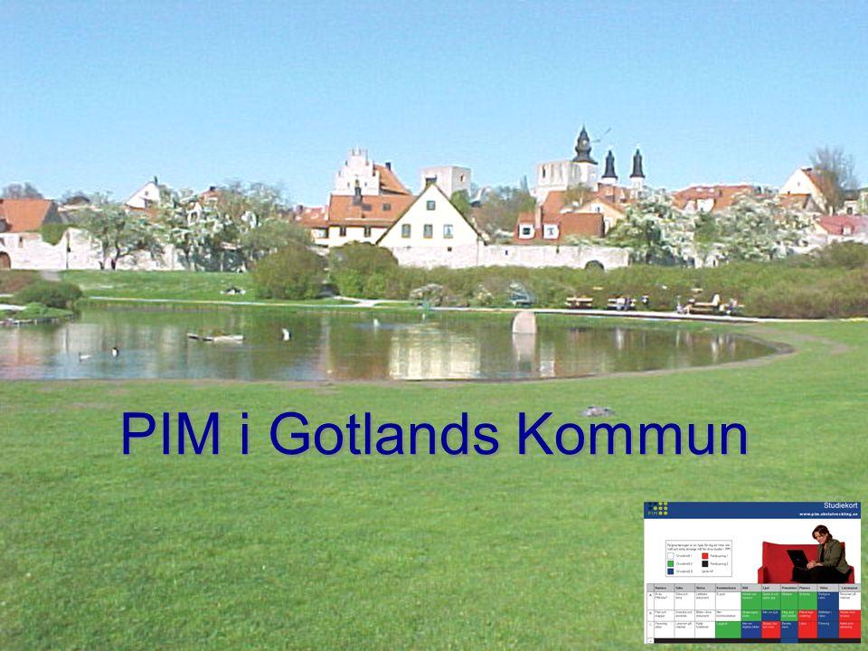 PIM i Gotlands Kommun