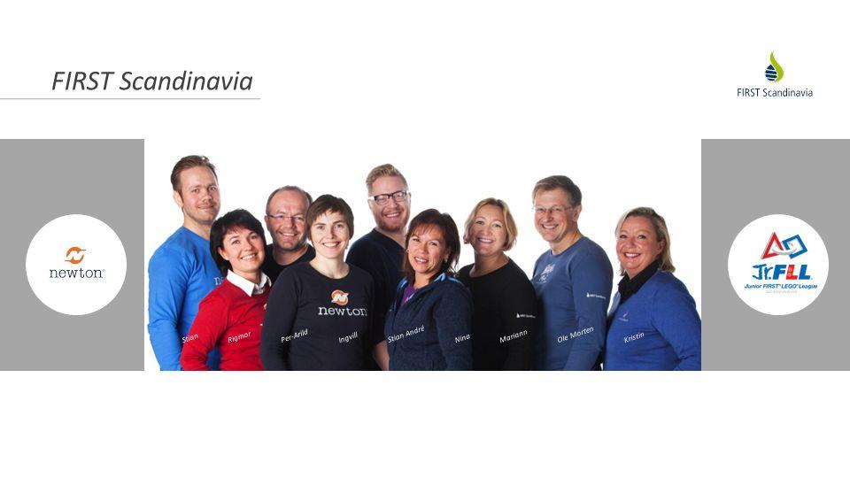 FIRST Scandinavia 15 år KONCEPT PROJEKT ANSTÄLLDA Newton-rum på beställning av kommun och näringsliv Skandinavisk FLL-final