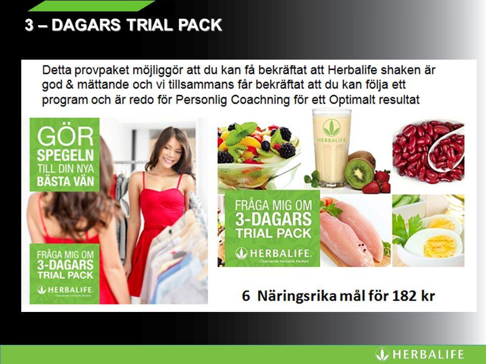3 – DAGARS TRIAL PACK