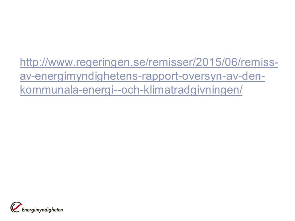 http://www.regeringen.se/remisser/2015/06/remiss- av-energimyndighetens-rapport-oversyn-av-den- kommunala-energi--och-klimatradgivningen/