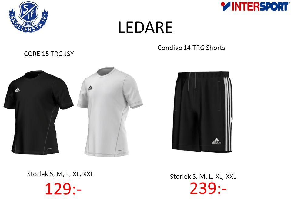 LEDARE Condivo 14 TRG Shorts 239:- Storlek S, M, L, XL, XXL CORE 15 TRG JSY 129:-