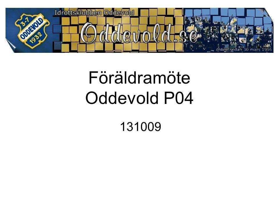 Föräldramöte Oddevold P04 131009