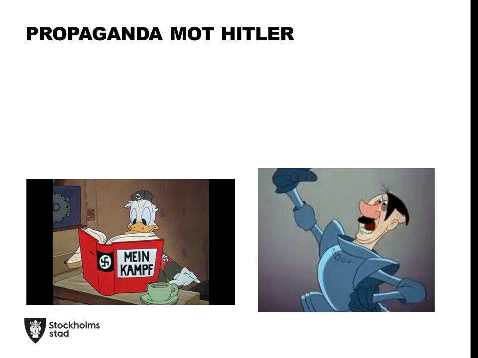 PROPAGANDA MOT HITLER