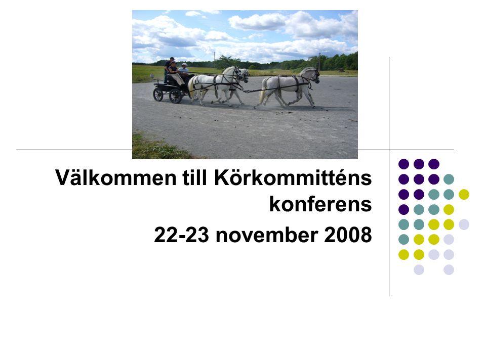 Välkommen till Körkommitténs konferens 22-23 november 2008
