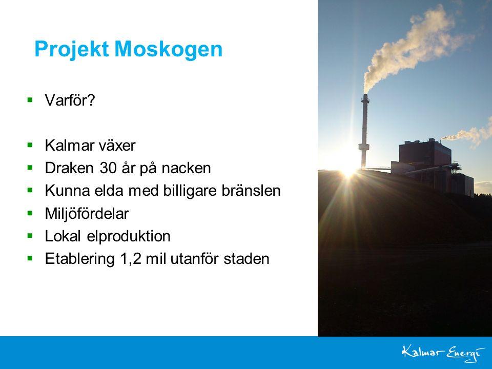 Projekt Moskogen  Varför.