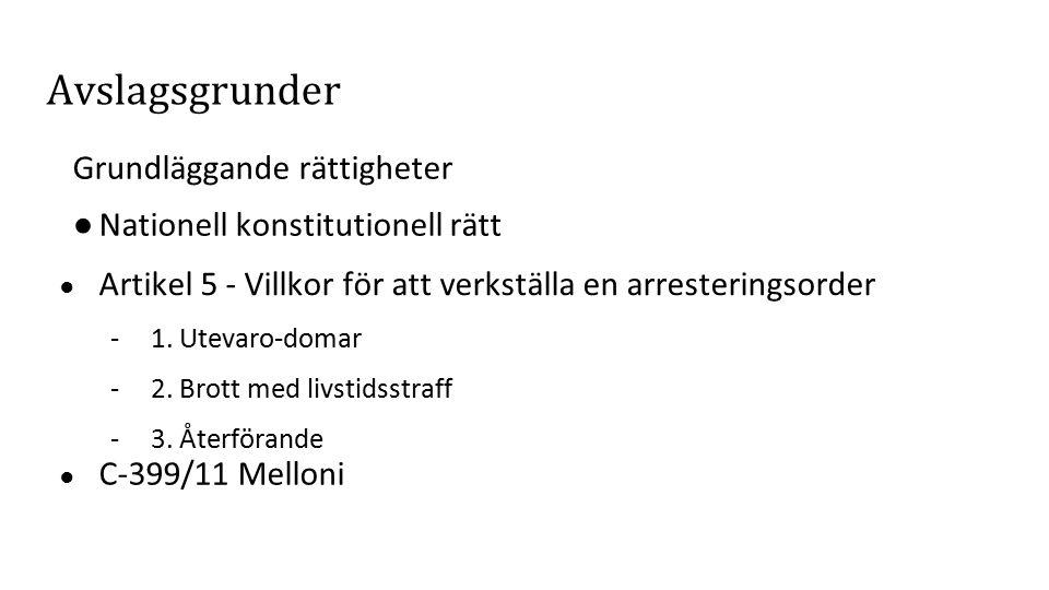 Kritik och problematik Listan - Legalitetsproblem.