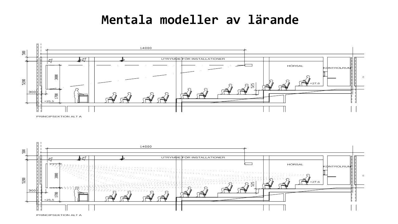 Mentala modeller av lärande