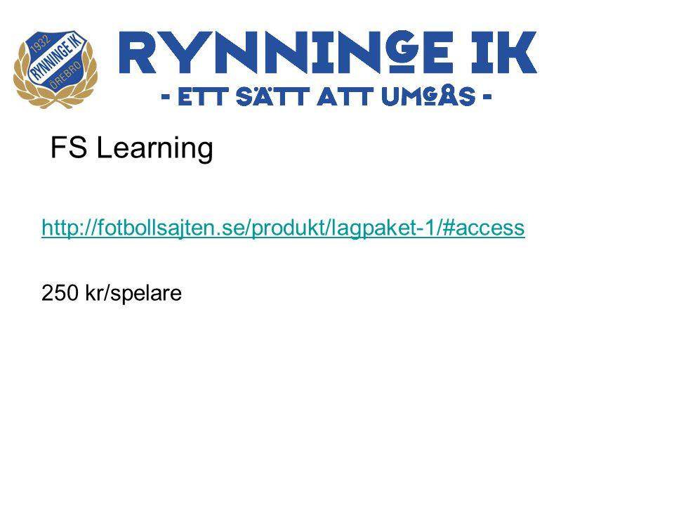 FS Learning http://fotbollsajten.se/produkt/lagpaket-1/#access 250 kr/spelare