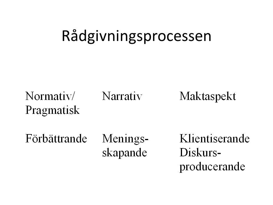 Rådgivningsprocessen