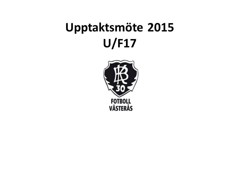 Upptaktsmöte 2015 U/F17