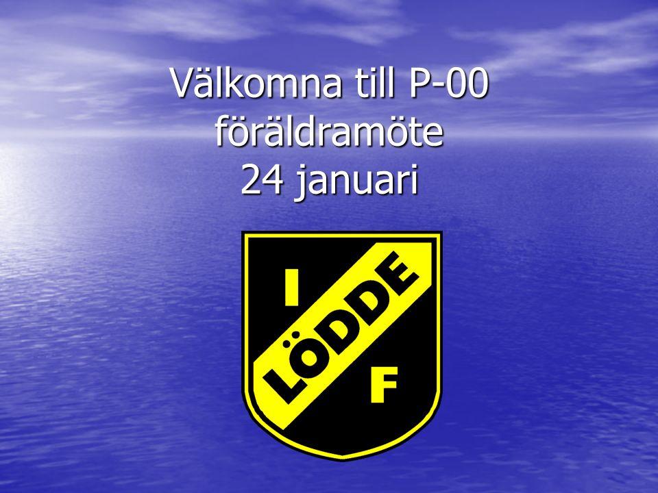 Välkomna till P-00 föräldramöte 24 januari