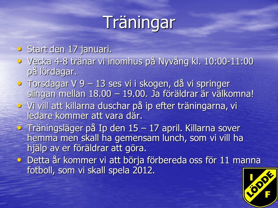 Övrigt Ny hemsida Ny hemsida IF Lödde fest 27 nov.