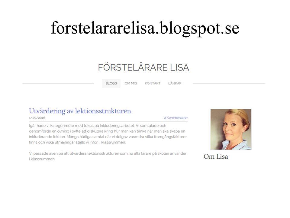 forstelararelisa.blogspot.se