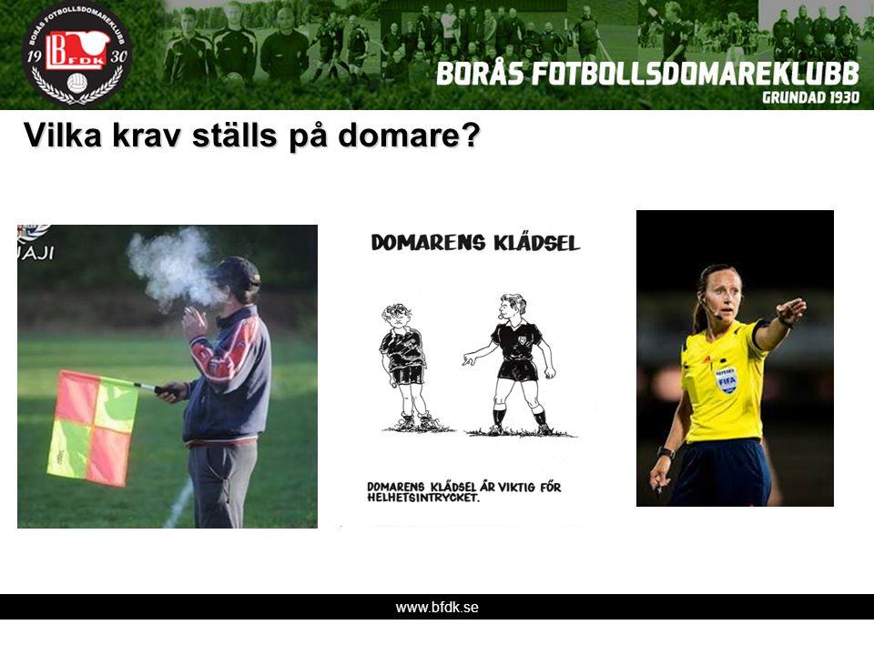 www.bfdk.se Vilka krav ställs på domare