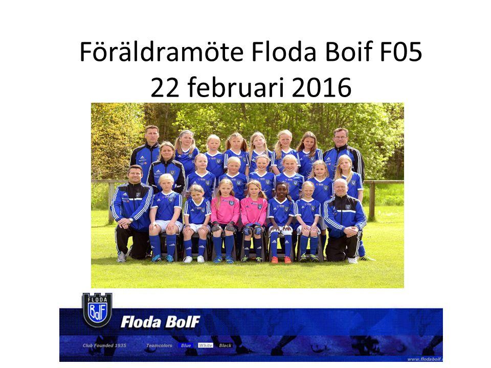 Föräldramöte Floda Boif F05 22 februari 2016