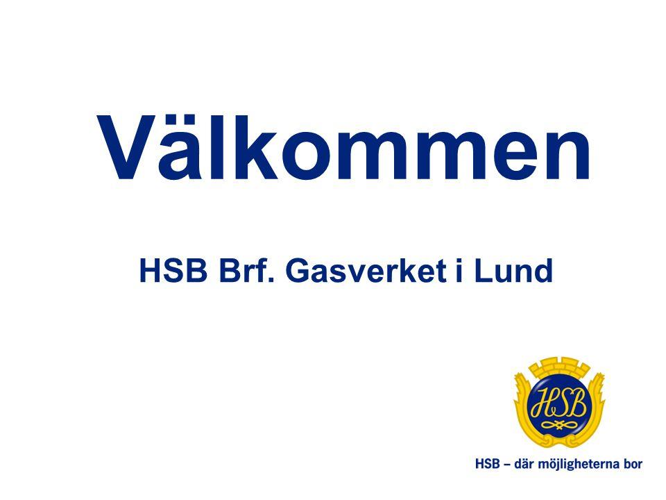 Välkommen HSB Brf. Gasverket i Lund