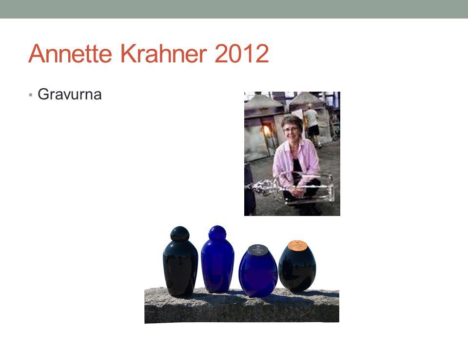 Annette Krahner 2012 Gravurna