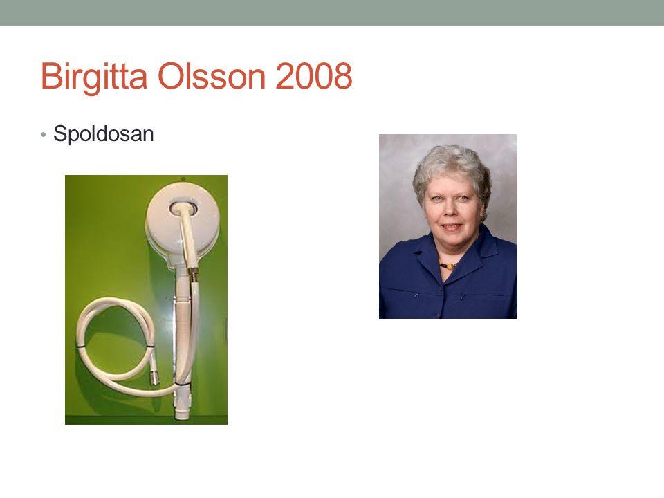 Birgitta Olsson 2008 Spoldosan