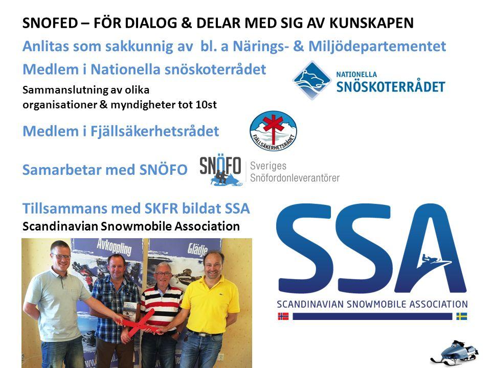 SNOFED – FÖR DIALOG & DELAR MED SIG AV KUNSKAPEN Anlitas som sakkunnig av bl.
