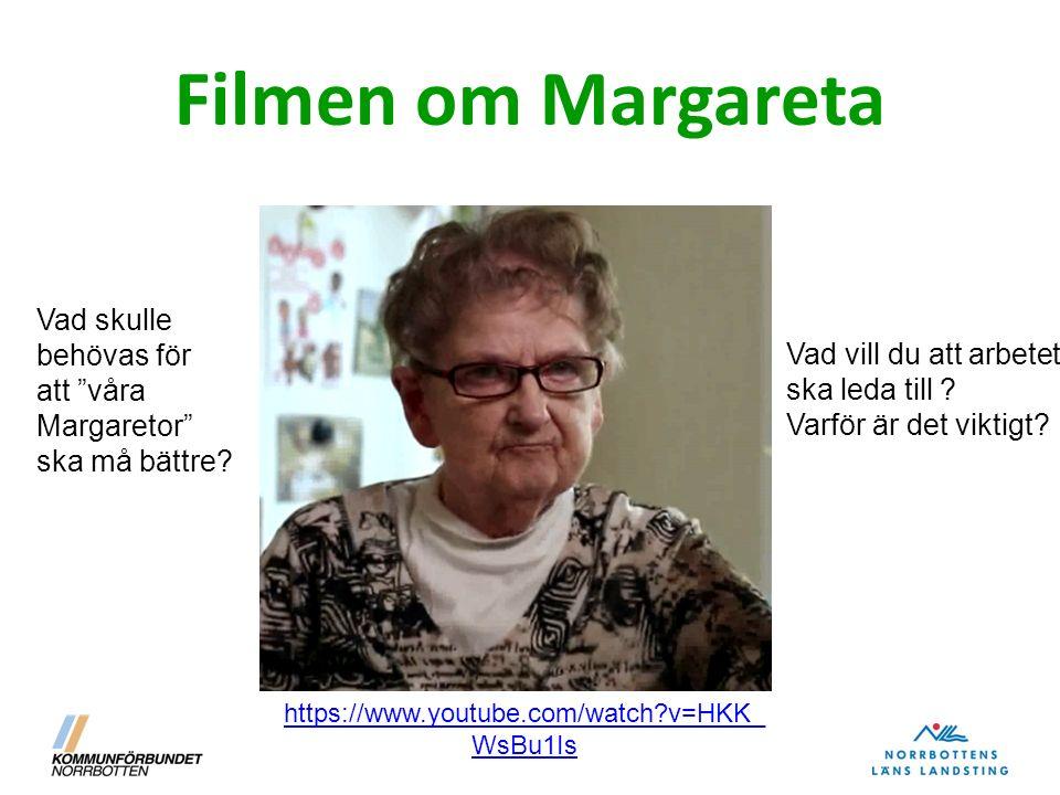 """Filmen om Margareta Vad skulle behövas för att """"våra Margaretor"""" ska må bättre? Vad vill du att arbetet ska leda till ? Varför är det viktigt? https:/"""