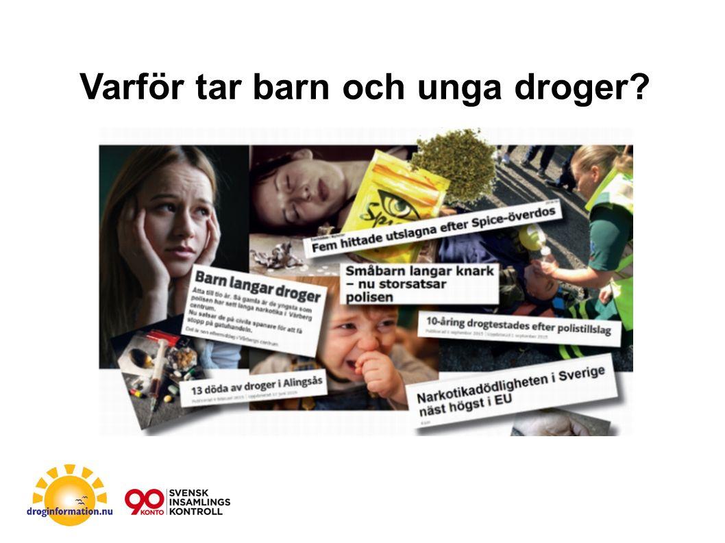 Allt fler unga dör av droger Tyvärr drabbas barn och unga hårt av droger.