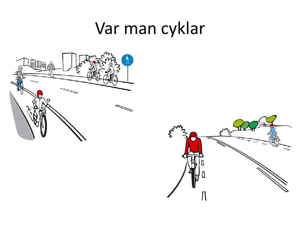 Var man cyklar