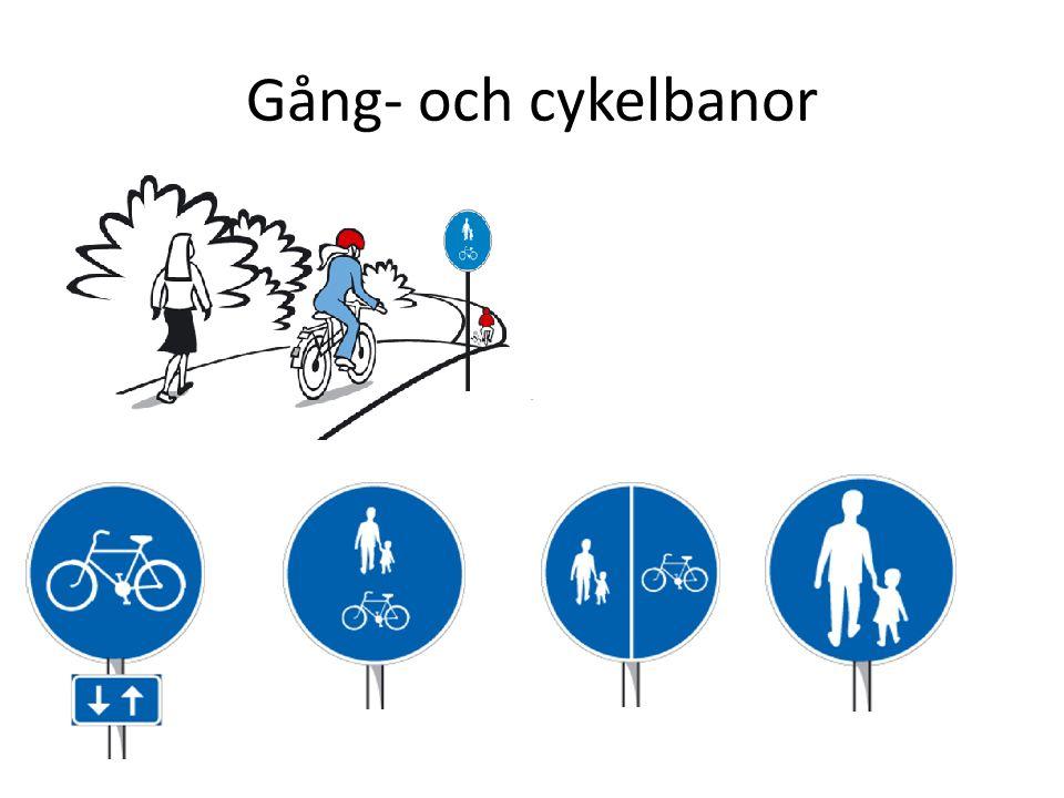 Gång- och cykelbanor