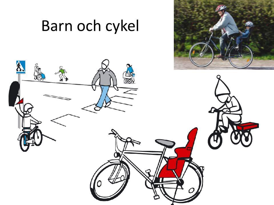 Barn och cykel
