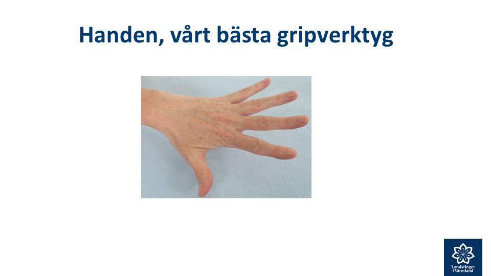 Handen, vårt bästa gripverktyg