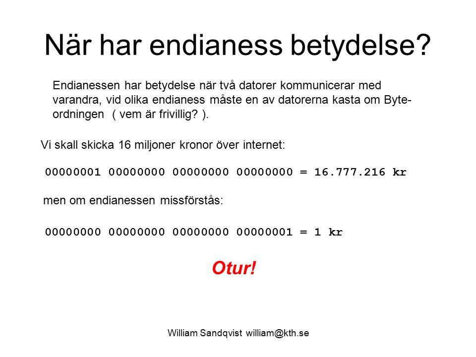 William Sandqvist william@kth.se a) b) c) a) deklarera två globala heltalsvariabler a och b..data.align 2 int a, b; a: word 0 b: word 0 b) initialisera b till värdet 27 i samband med deklarationen.
